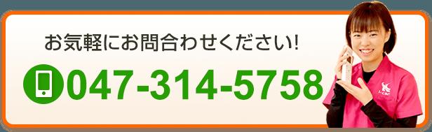 電話番号:047-314-5758