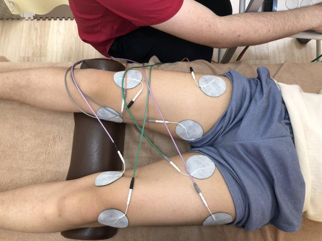 膝痛をEMSで改善